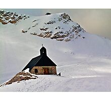 Highest church in Germany Photographic Print