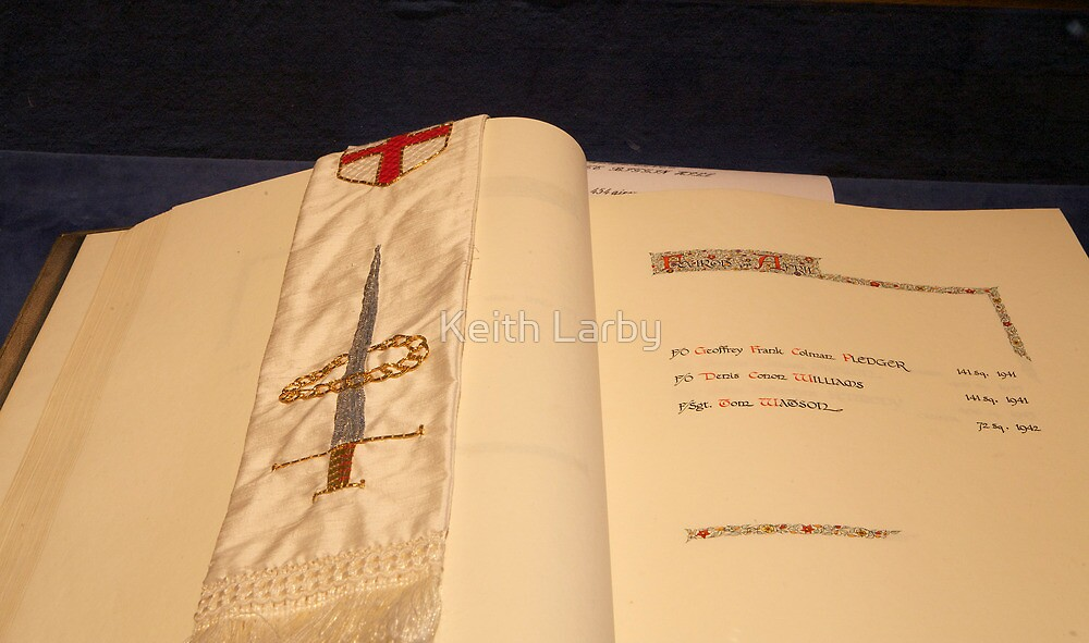 The RAF book of remembrance. by Keith Larby