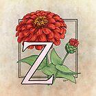 Z is for Zinnia by Stephanie Smith