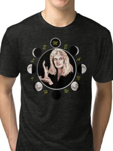 MEANWHILE - LAURA PALMER Tri-blend T-Shirt