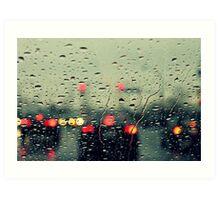 Still raining Art Print