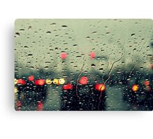 Still raining Canvas Print