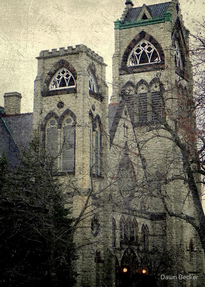 Old Gothic church ©  by Dawn M. Becker