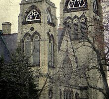 Old Gothic church ©  by Dawn M. Becker