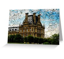 Cracked Sky Greeting Card