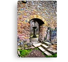 The Doorway  -  Fountains Abbey Canvas Print