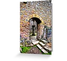 The Doorway  -  Fountains Abbey Greeting Card