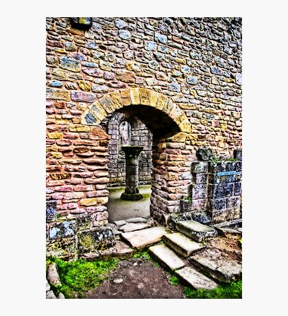 The Doorway  -  Fountains Abbey Photographic Print