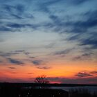 April Sunset over the Ottawa River by goddarb