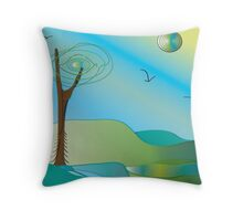 Restful.... Throw Pillow