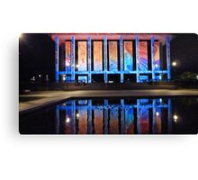 National Library Enlightened #1. Canvas Print