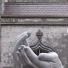 Receiving Hands by April Jarocka