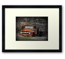 Brokedown Framed Print