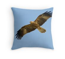 """On the Wing"" - Whistling Kite Throw Pillow"