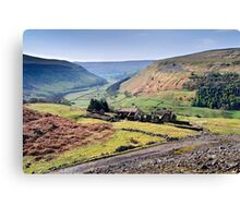 Crackpot Hall - The Yorkshire Dales Canvas Print