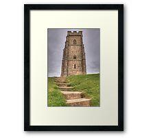 Glastonbury Tor Framed Print