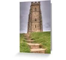 Glastonbury Tor Greeting Card