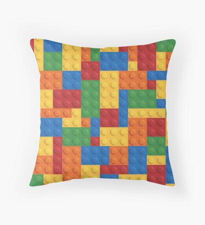 Building Blocks No.1 Throw Pillow