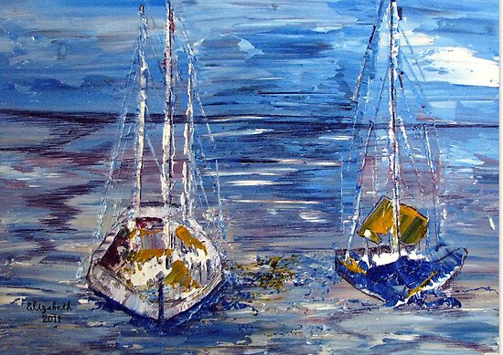 Boats on the Sea   by Elizabeth Kendall