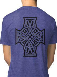 Celtic Cross Tri-blend T-Shirt