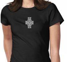Celtic Cross - Small Womens Fitted T-Shirt