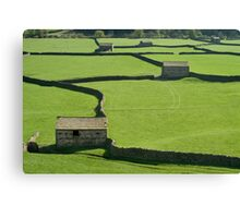 Gunnerside Barns - The Yorkshire Dales Canvas Print