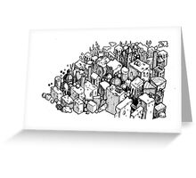 Cheese city Greeting Card