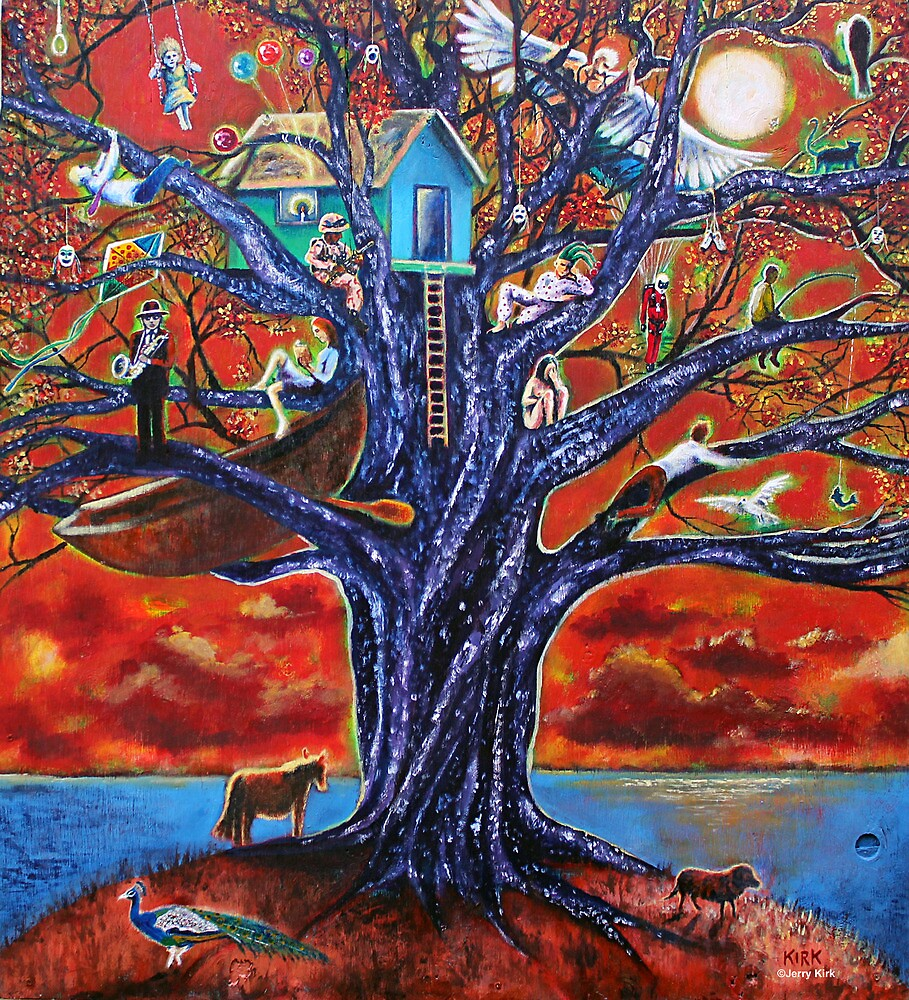 'Tree of Life, Death & Everything In-Between' by Jerry Kirk