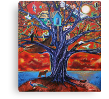 'Tree of Life, Death & Everything In-Between' Canvas Print