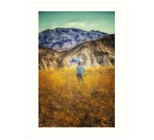 Lost in Thought in Death Valley Art Print