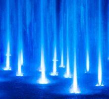 Multimedia Fountains in Plovdiv, BULGARIA Sticker
