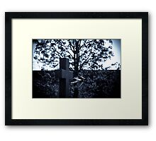 But who is stronger than death? Framed Print