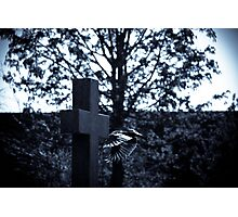 But who is stronger than death? Photographic Print