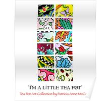 Tea Pot Collection Calendar Cover Poster