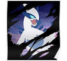 pokemon lugia anime manga shirt Poster