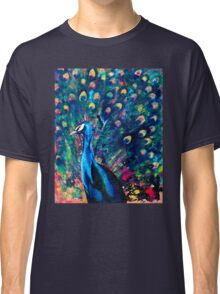 Psychedelic Peacock Classic T-Shirt