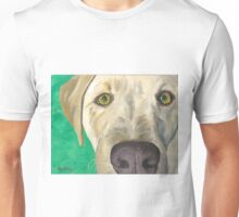 Yellow Labrador Art Unisex T-Shirt