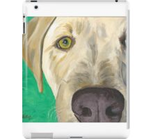 Yellow Labrador Art iPad Case/Skin