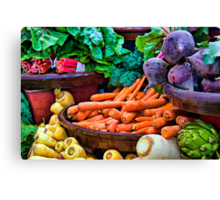 Vegetarian's Delight Canvas Print