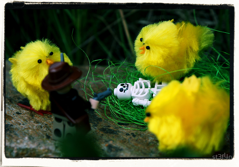 Indiana Jones and the Man-Eating Chicks by Stéfan Le Dû