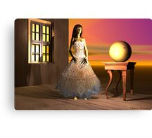 Wooden Doll Canvas Print