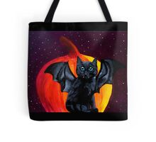 Kitty Cat Bat Tote Bag
