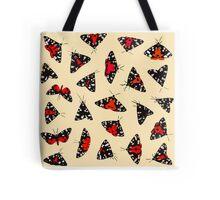 Scarlet Tigers - Pale Tote Bag