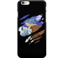 pokemon blastoise anime manga shirt iPhone Case/Skin