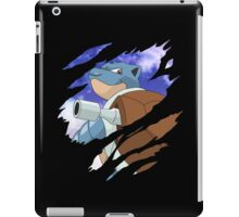 pokemon blastoise anime manga shirt iPad Case/Skin