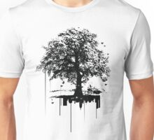 Silent tree covering noise city  Unisex T-Shirt