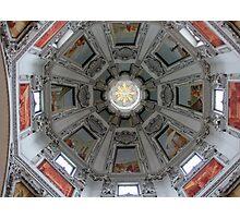 Under the dome - Salzburger Dom, Austria Photographic Print