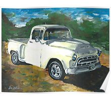 57' Chevy Truck  Poster