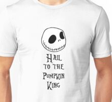 Nightmare Before Christmas - Hail to the Pumpkin King Unisex T-Shirt