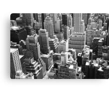 NY View from Above Canvas Print